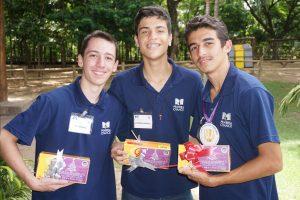 Lucas, Antônio e Eduardo.