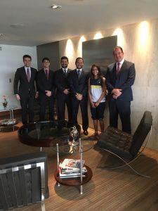 Eduarda conheceu o escritório de advocacia Bergi Advogados Associados.